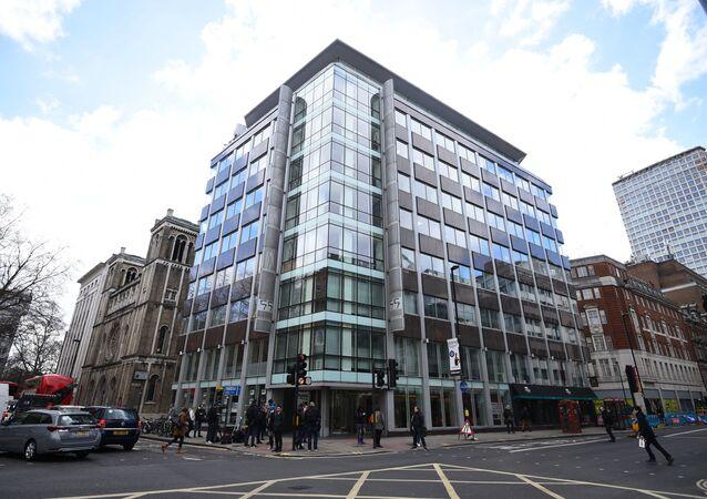 Gli uffici di Cambridge Analytica (CA) nel centro di Londra, dopo che è stato annunciato che la commissaria britannica per le informazioni Elizabeth Denham sta perseguendo un mandato di perquisizione sui server di Cambridge Analytica, martedì 20 marzo 2018