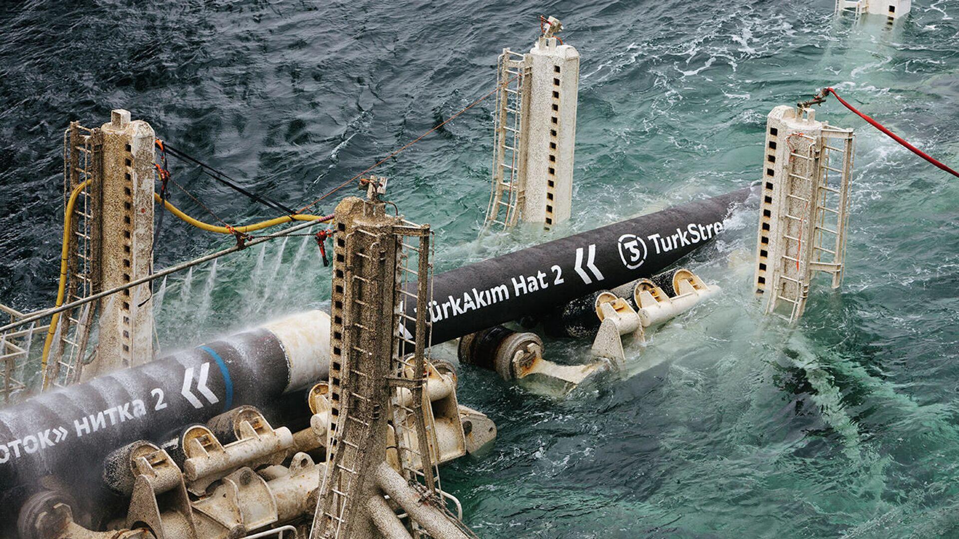 Il gasdotto Turkish Stream - Sputnik Italia, 1920, 17.05.2021