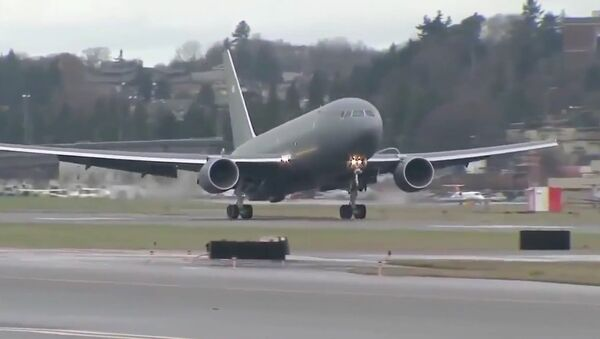 Il primo volo del Boeing - KC-46A Pegasus  - Sputnik Italia