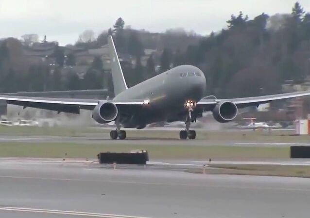 Il primo volo del Boeing - KC-46A Pegasus