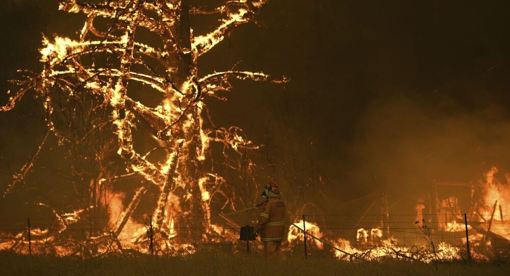 Gli incendi boschivi in Australia