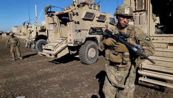 Soldati Usa in Iraq (foto d'archivio) - Sputnik Italia