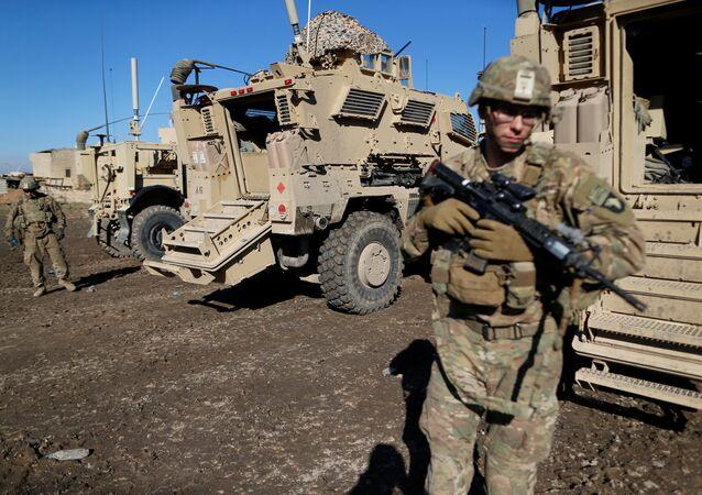Soldati Usa in Iraq (foto d'archivio)