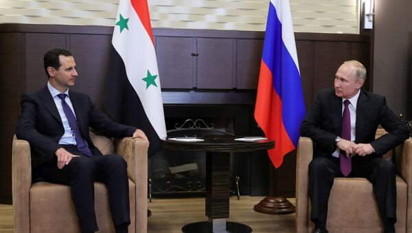Bashar al-Assad e Vladimir Putin - Sputnik Italia