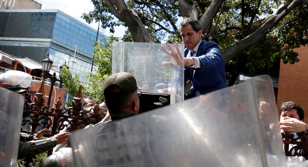 Juan Guaidó, politico dell'opposizione venezuelana