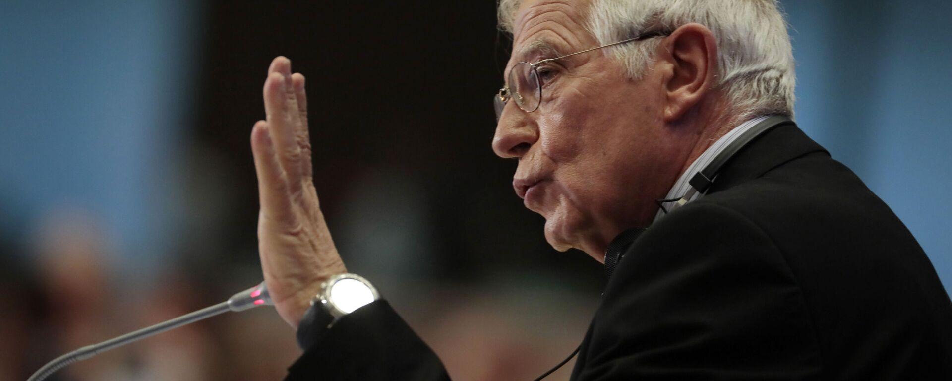 L'Alto rappresentante dell'UE Josep Borrell - Sputnik Italia, 1920, 27.05.2021