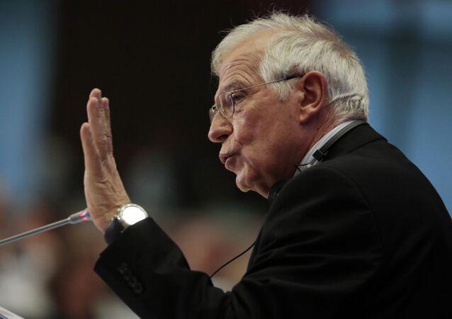 L'Alto rappresentante dell'UE Josep Borrell