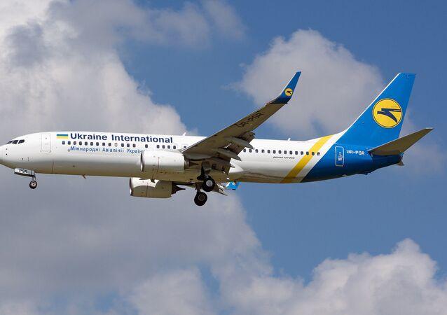Un Boeing 737 ucranino (archivio)