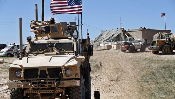 Militari americani in Siria - Sputnik Italia