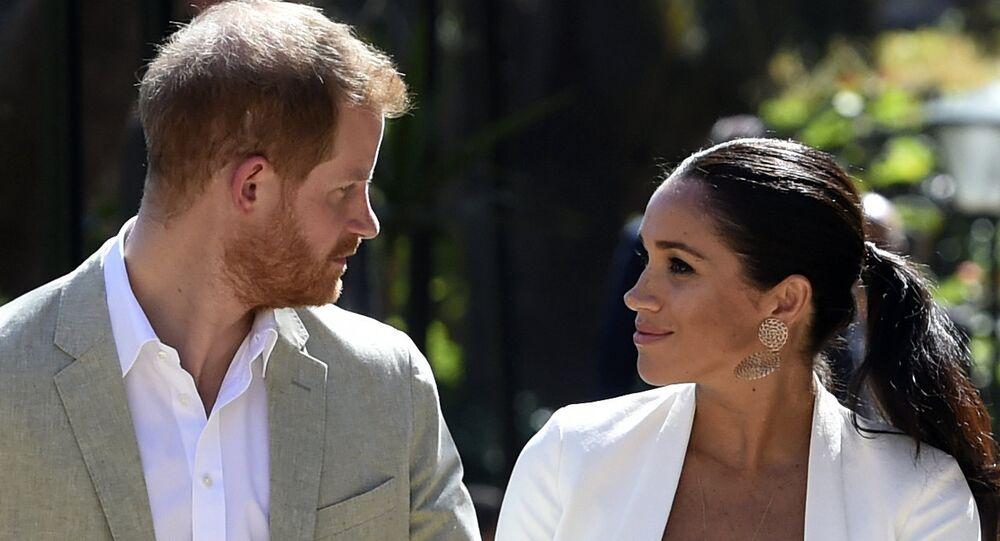 Il principe Harry e la moglie Meghan, Duca e Duchessa del Sussex.