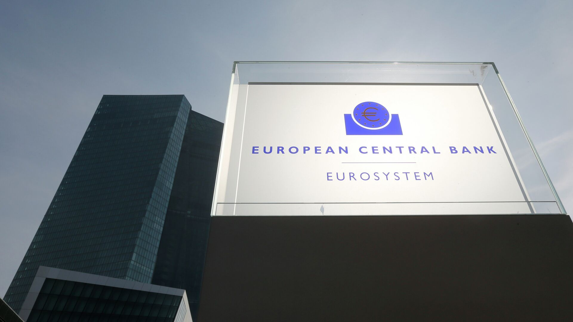 La sede dellas BCE a Francoforte - Sputnik Italia, 1920, 24.06.2021