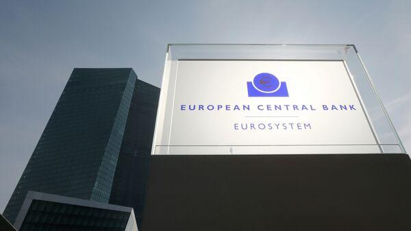 La sede dellas BCE a Francoforte - Sputnik Italia