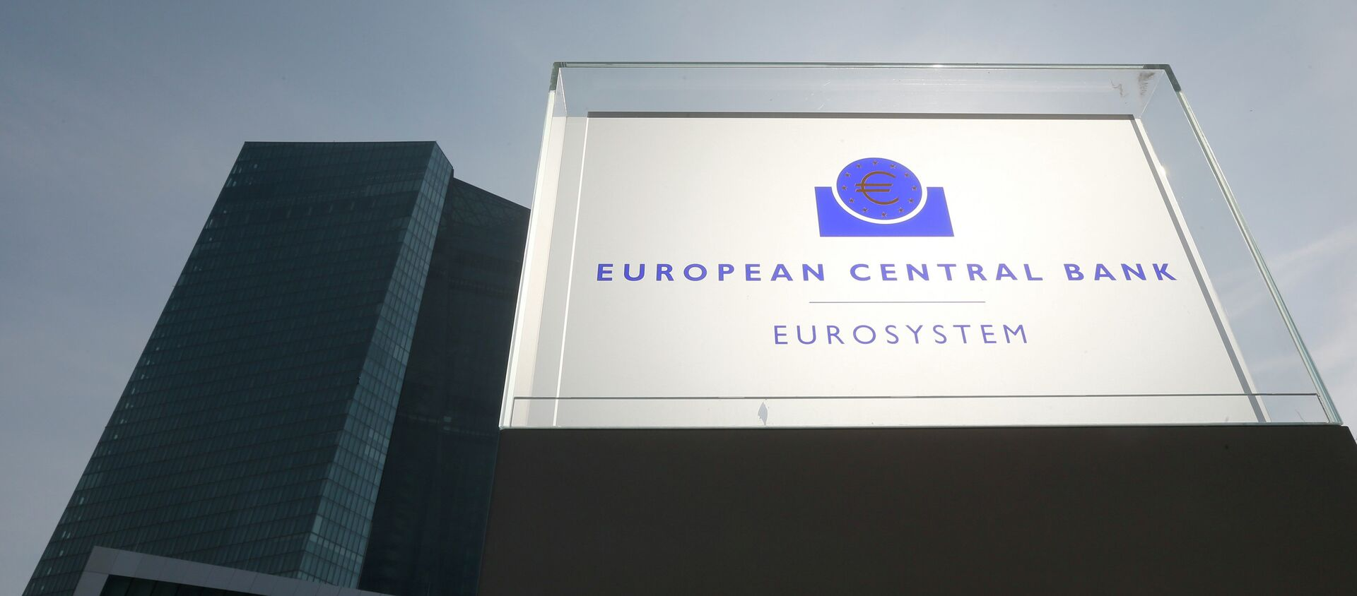 La sede dellas BCE a Francoforte - Sputnik Italia, 1920, 07.01.2021