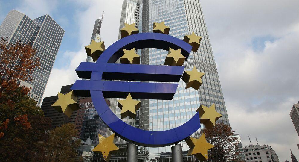 Logo euro e BCE
