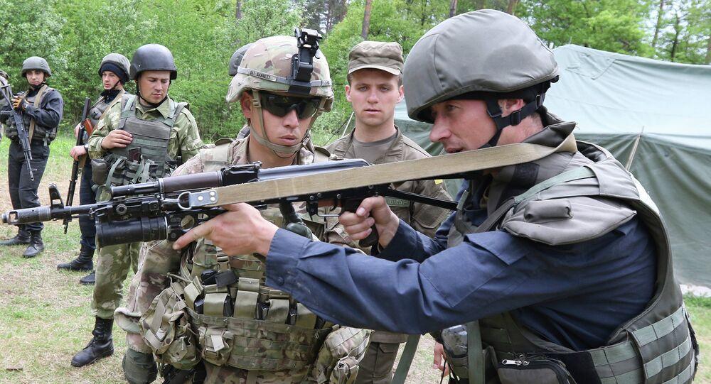Istruttori militari USA in Ucraina (foto d'archivio)