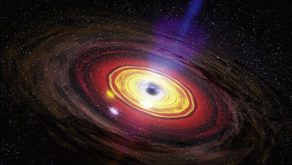 Un agujero negro - Sputnik Italia