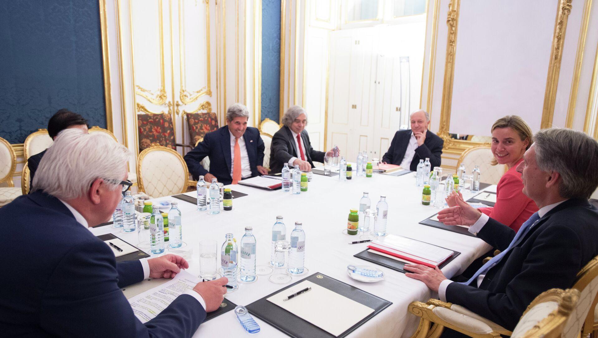I negoziati sul nucleare iraniano nel 2015 a Vienna - Sputnik Italia, 1920, 24.02.2021