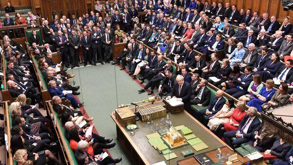 La Camera dei comuni del Parlamento della Gran Bretagna - Sputnik Italia