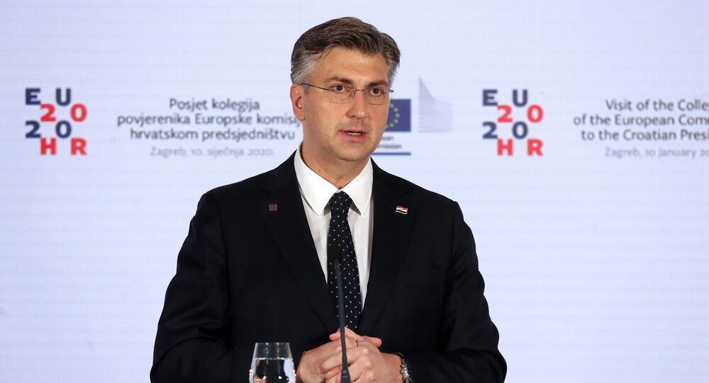 Il premier croato Andrej Plenkovic