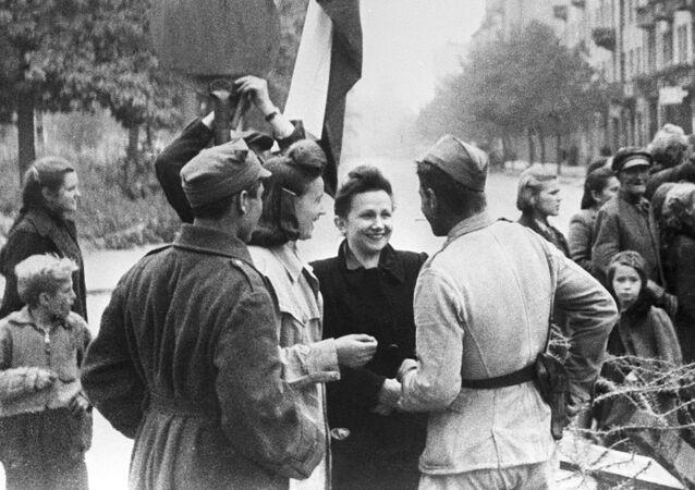 Varsavia alla fine della Seconda Guerra Mondiale