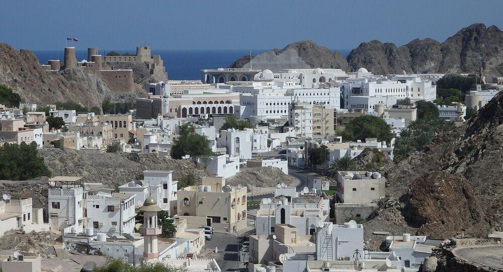 Muscat, Città vecchia. Oman