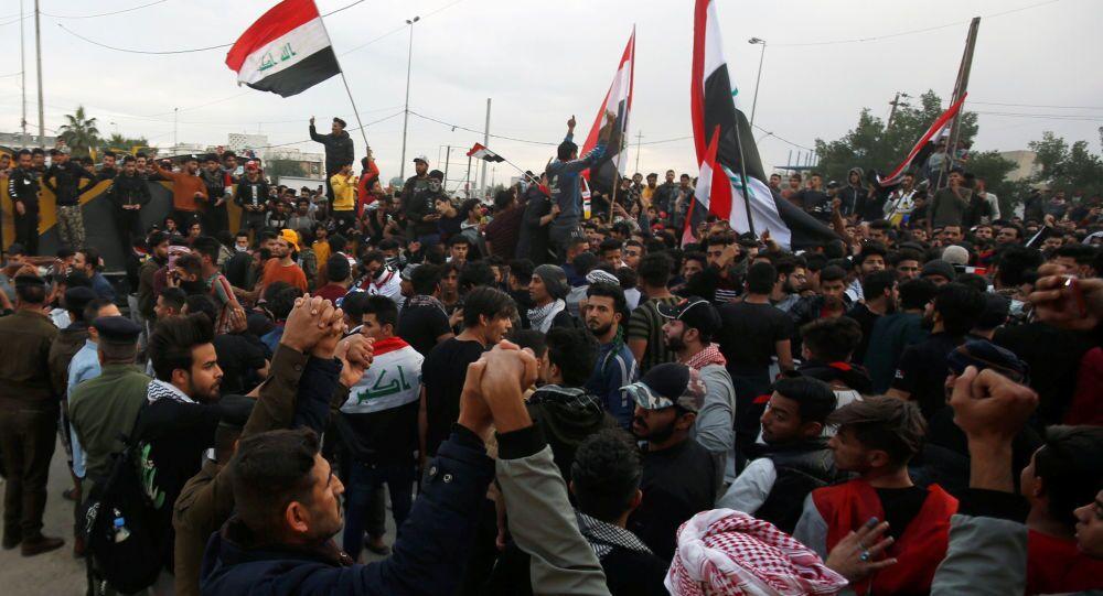 Le manifestazioni in Iraq