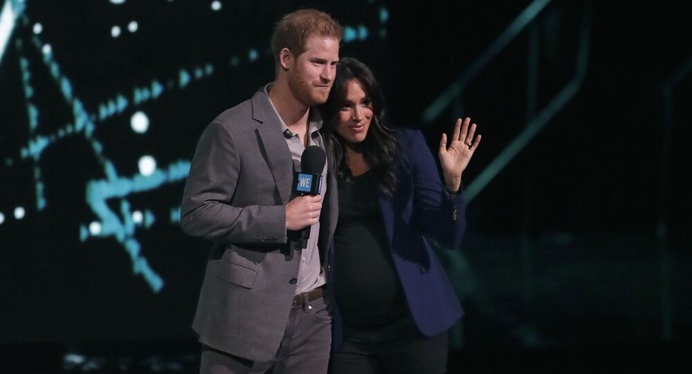 Harry e Meghan al WE Day UK
