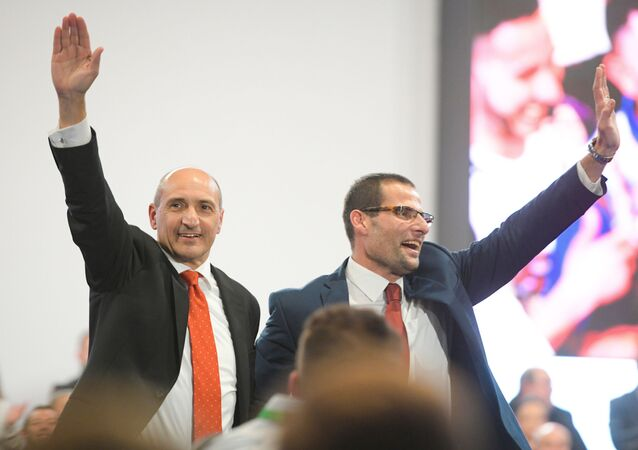 Malta, i candidati di Labour: Chris Fearne (a sinistra) e Robert Abela (a destra)
