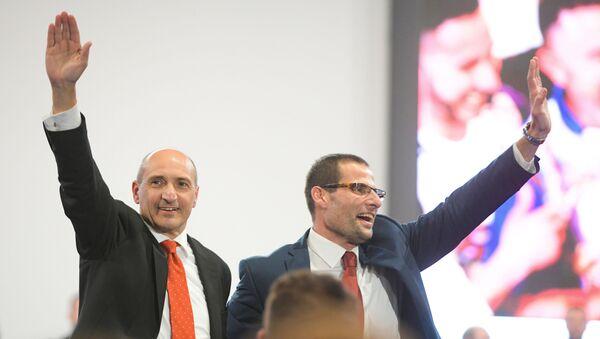 Malta, i candidati di Labour: Chris Fearne (a sinistra) e Robert Abela (a destra) - Sputnik Italia
