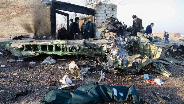 Il luogo dello schianto del Boeing ucraino nei pressi di Teheran - Sputnik Italia