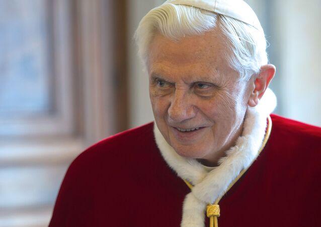 Joseph Ratzinger (foto d'archivio)