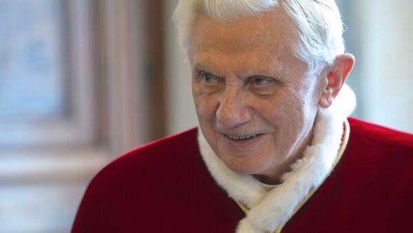 Il Papa Benedetto XVI - Sputnik Italia