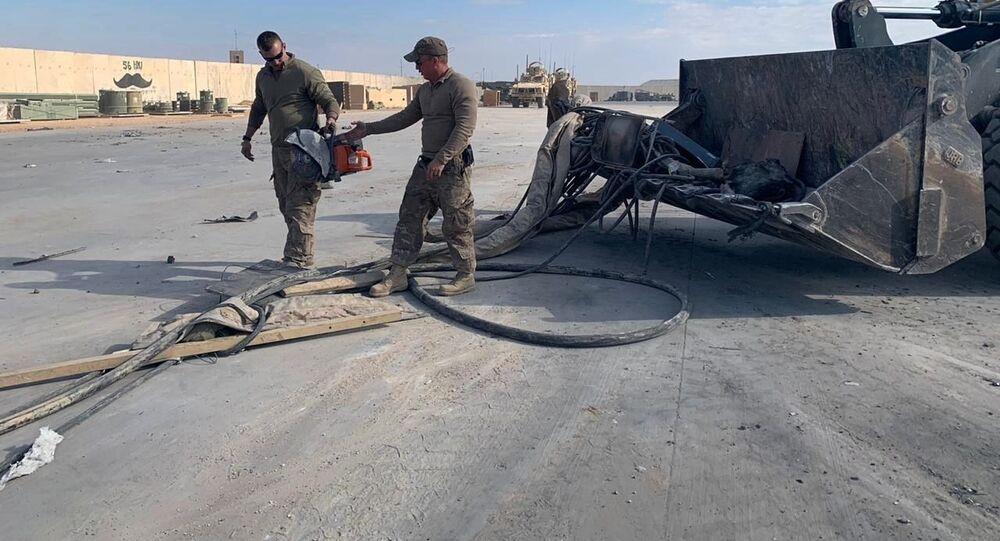 Soldati USA operativi nella base di Ain al Asad