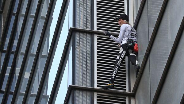 "Il noto ""spiderman francese Alain Robert  - Sputnik Italia"