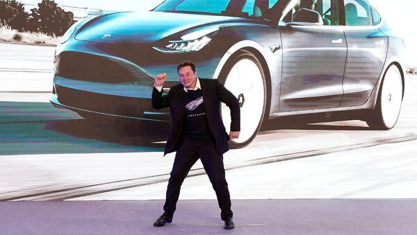 La presentazione della Model 3 di Tesla - Sputnik Italia