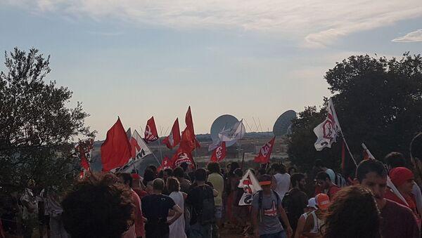 Movimento No Muos  - Sputnik Italia