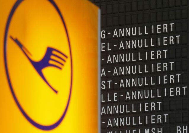 Logo della compagnia aerea Lufthansa