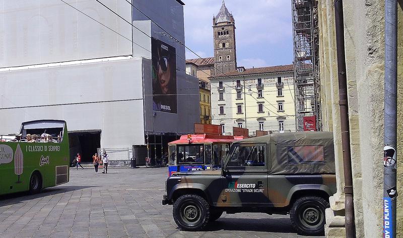 operazione strade sicure esercito italiano a Bologna, antiterrorismo
