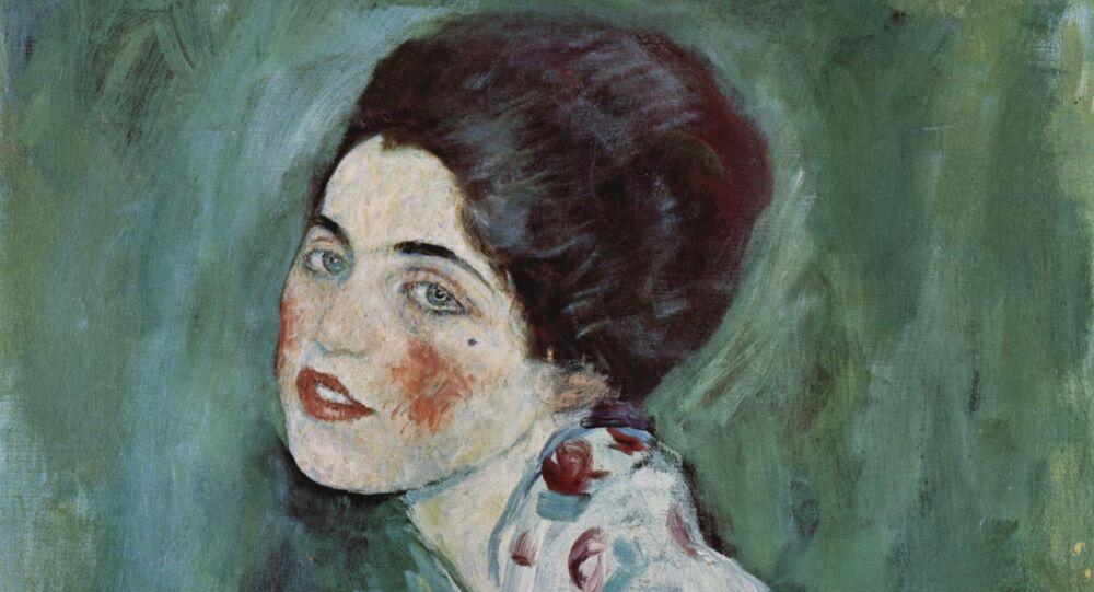 Ritratto di Signora, Gustave Klimt