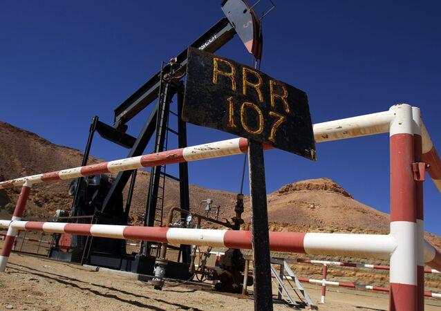 Estrazione di petrolio in Libia