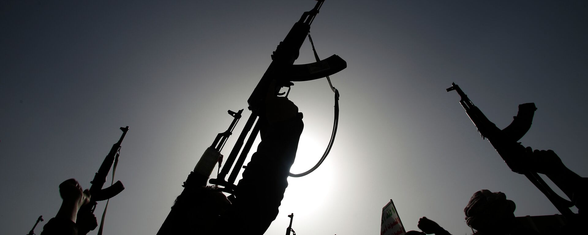 Ribelli sciiti conosciuti come Houthi, Yemen - Sputnik Italia, 1920, 06.04.2021