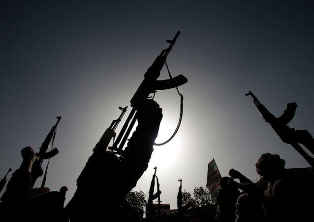 Ribelli sciiti Houthi in Yemen