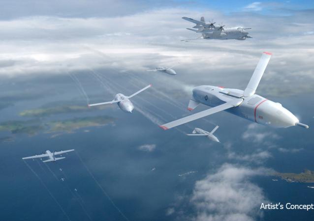 Nuovi droni Usa X-61A Gremlin