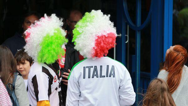 Tifosi italiani - Sputnik Italia