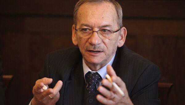 Jaroslav Kubera, presidente della Camera alta del parlamento ceco - Sputnik Italia