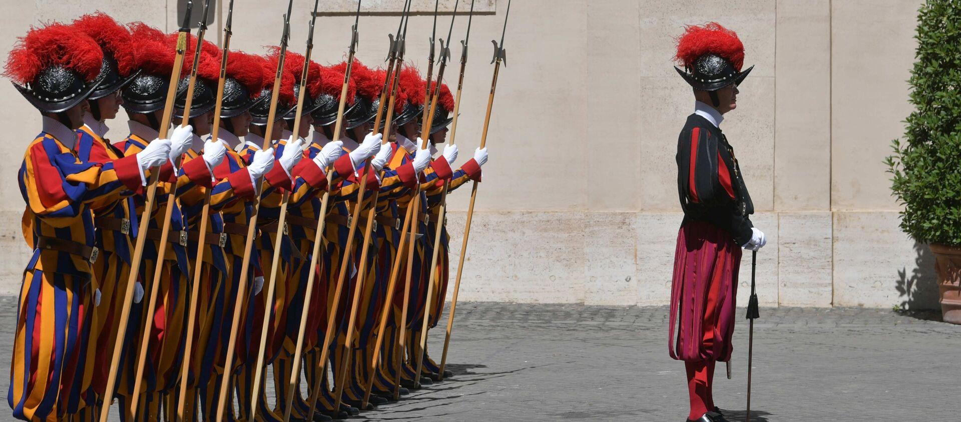La Guardia svizzera pontificia  - Sputnik Italia, 1920, 18.02.2021