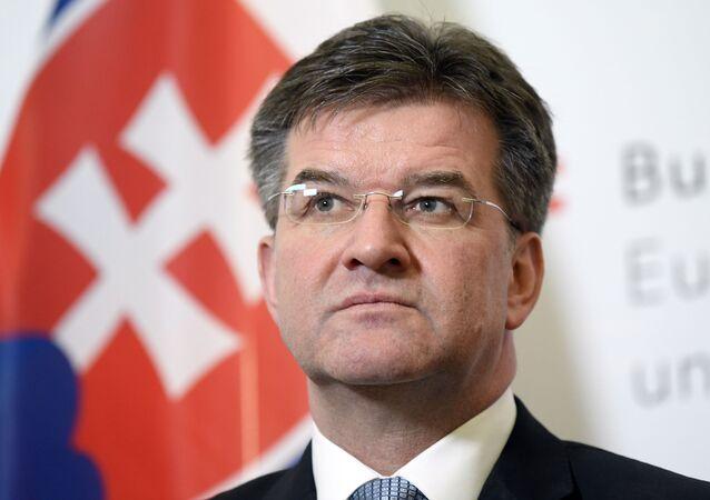 Ministro degli Esteri slovacco Miroslav Lajcak
