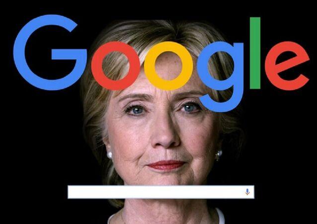 Grande manipolazione di Google: in che modo il motore di ricerca ha portato Clinton a milioni di voti