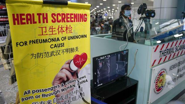 Ispezione a causa della quarantena all'aeroporto di Sepang, gennaio 21 del 2020 - Sputnik Italia