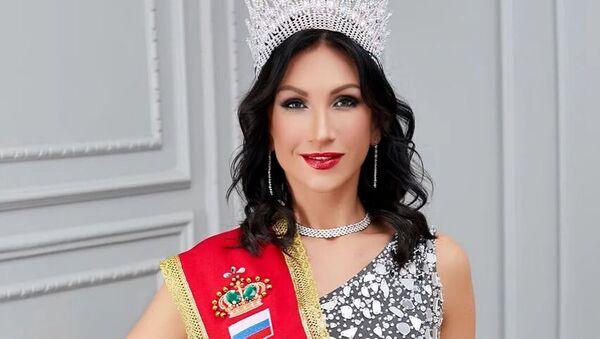 Победительница конкурса Миссис Вселенная - 2020 жительница Санкт-Петербурга Ксения Вербицкая - Sputnik Italia